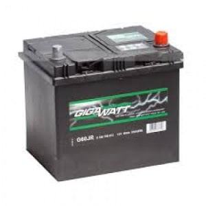 Автомобильный аккумулятор GIGAWATT (Гигаватт) 60 Ah 560412 G60JR