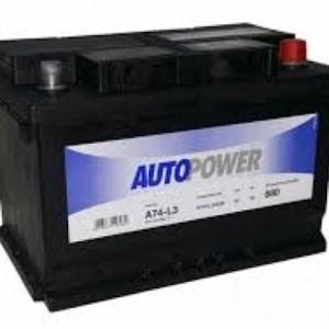 Автомобильный аккумулятор AUTOPOWER (Автопауэр) 74 Ah 57404