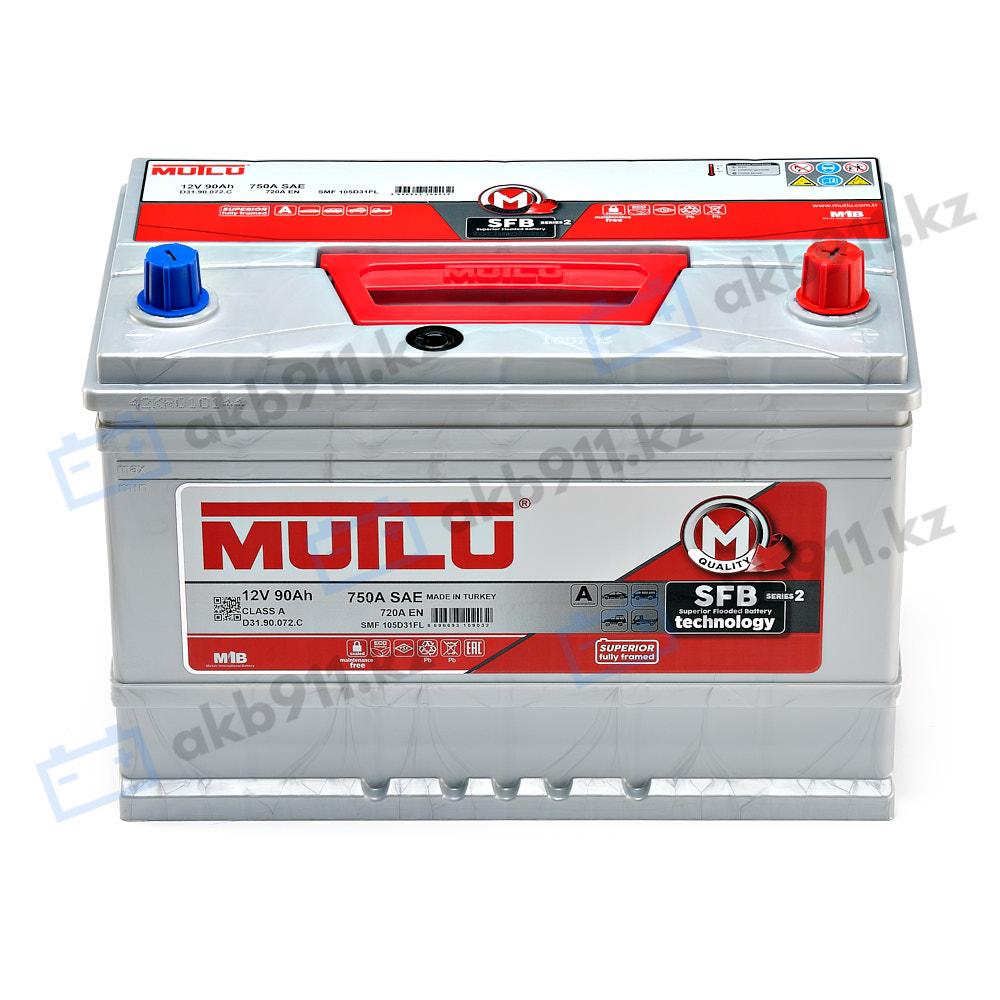 Автомобильный аккумулятор MUTLU (Mутлу) 90 Ah D31.90.072.C в Алматы