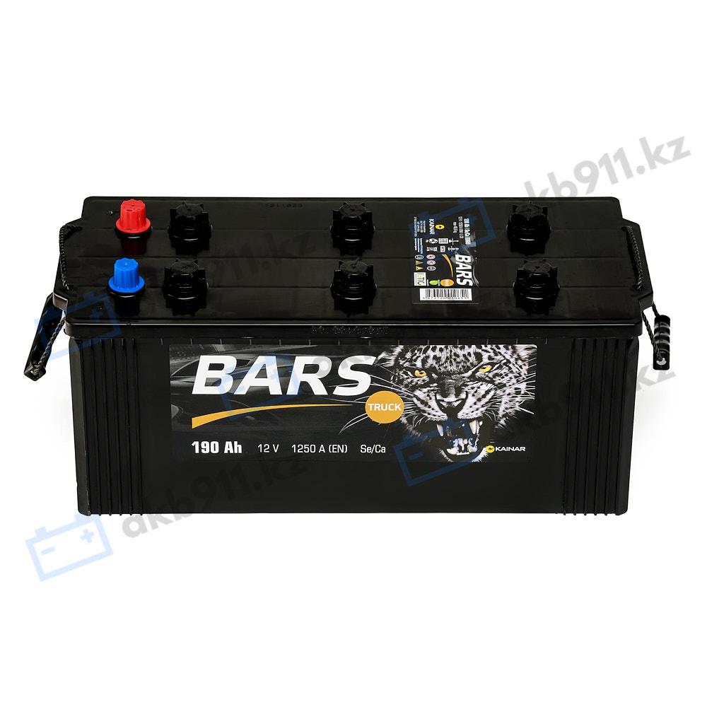 Автомобильный аккумулятор BARS (Барс) 6СТ-190 АПЗ 190Ah в Алматы