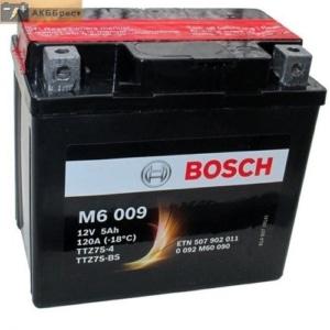Автомобильный аккумулятор BOSCH (Бош) 5 Ah