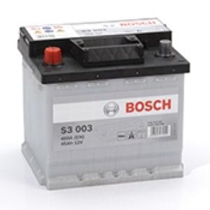 Автомобильный аккумулятор BOSCH (Бош) S3 003 45Ah 545413