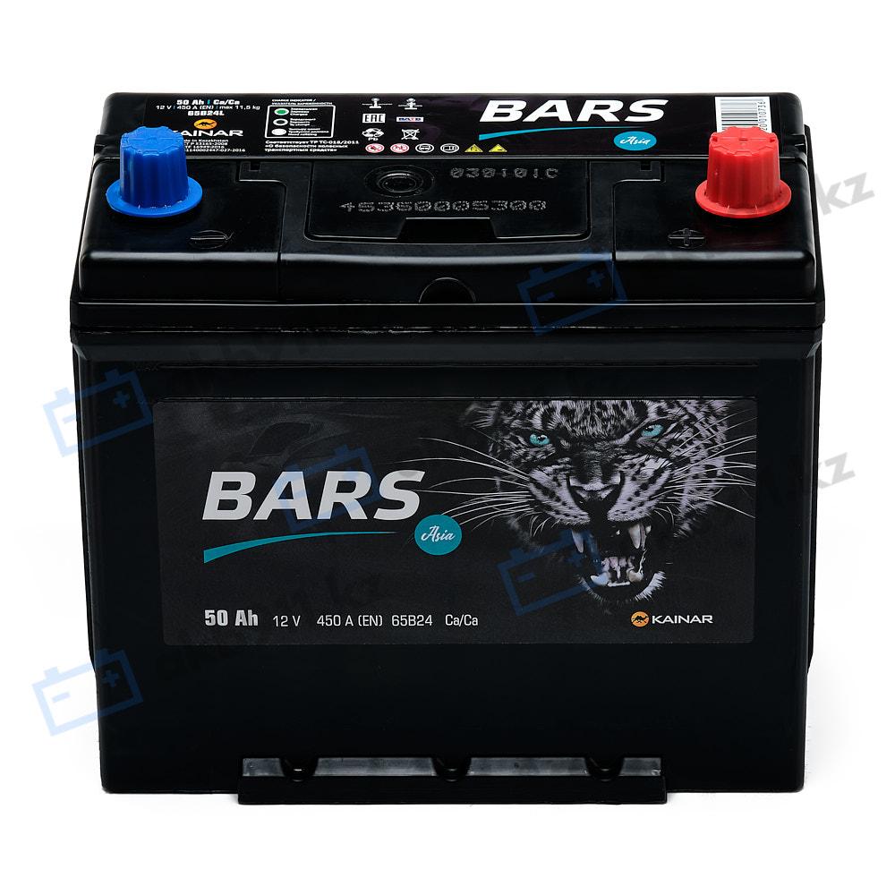 Автомобильный аккумулятор BARS (Барс) ASIA 6СТ-50 АПЗ 50Ah в Алматы