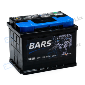 Автомобильный аккумулятор BARS (Барс) 6СТ-60 АПЗ 60Ah