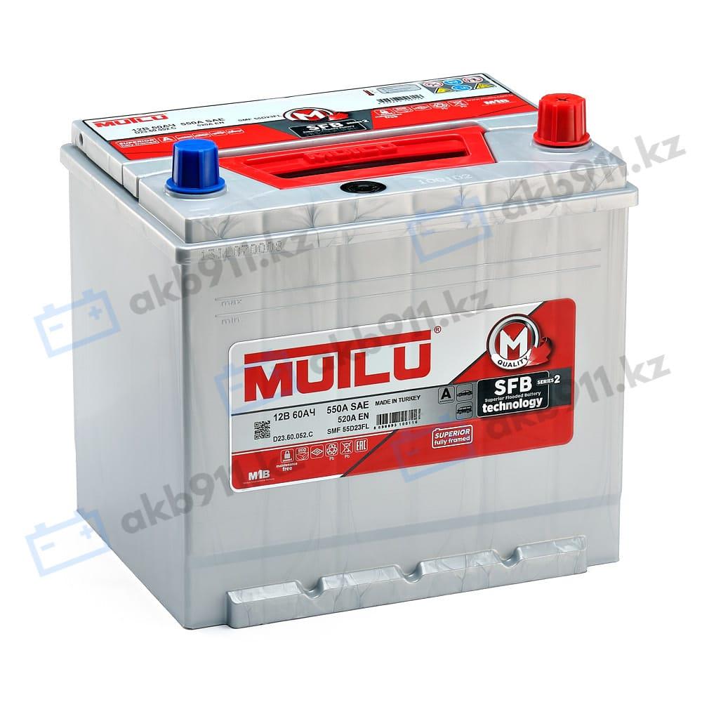 Автомобильный аккумулятор MUTLU (Мулту) 60Ah D 23.60.052.C