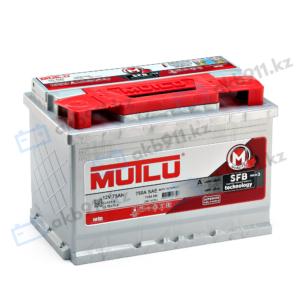 Автомобильный аккумуляторMUTLU (Мутлу) 75Ah L3.75.072.B