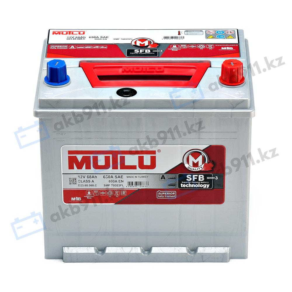 Автомобильный аккумулятор MUTLU (Mутлу) 68Ah D23.68.052.C в Алматы