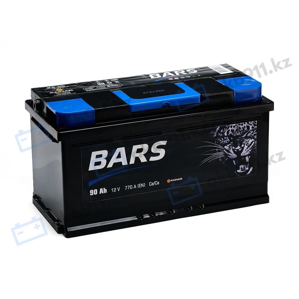 Автомобильный аккумулятор BARS (Барс) 6СТ-90 АПЗ 90Ah в Алматы