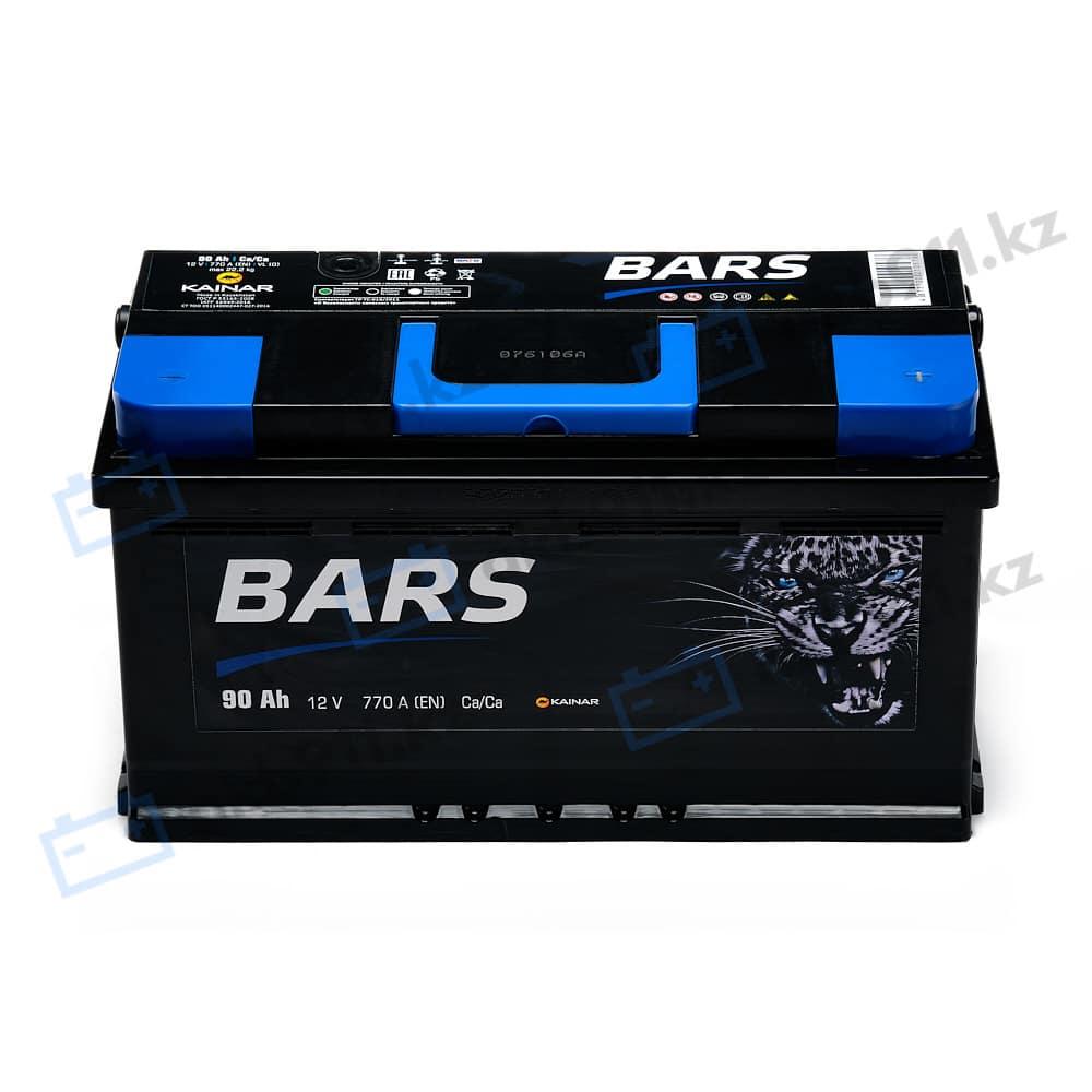 Автомобильный аккумулятор BARS (Барс) 6СТ-90 АПЗ 90Ah