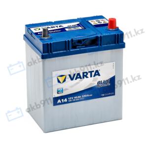 Автомобильный аккумулятор VARTA (Варта) А14 BLUE DYNAMIC 40 Ah BD 540 126 033