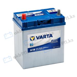 Автомобильный аккумулятор VARTA (Варта) А15 BLUE DYNAMIC 40 Ah BD 540 127 033