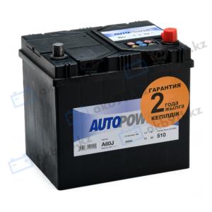 Автомобильный уккумулятор AUTOPOWER (Автопауэр) 60Ah 560412 A60J