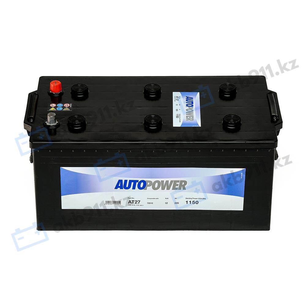 Автомобильный аккумулятор AUTOPOWER (Автопауэр) 225Ah 72512 в Алматы
