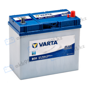 Автомобильный аккумулятор VARTA (Варта) B31 BLUE DYNAMIC 45Ah 54555-07