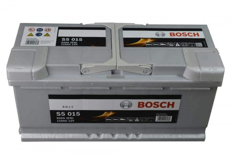 Автомобильный аккумулятор BOSCH (Бош) S5 015 110Ah 610402