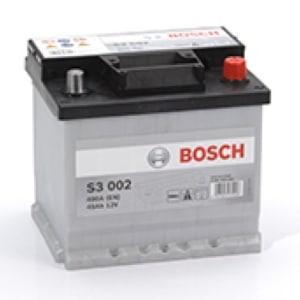 Автомобильный аккумулятор BOSCH (Бош) S3 002 45Ah 545412