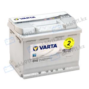 Автомобильный аккумулятор VARTA (Варта) D15 SILVER DYNAMIC 63 Ah 563 400 061
