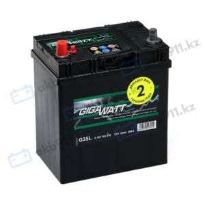 Автомобильный аккумулятор GIGAWATT (Гигаватт) 35Ah 535119 G35L