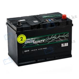 Автомобильный аккумулятор GIGAWATT (Гигаватт) 91 Ah 591400 G91R