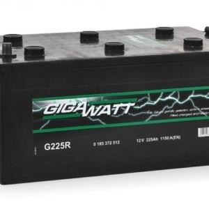 Автомобильный аккумулятор GIGAWATT (Гигаватт) 225 Ah 725012 G225R