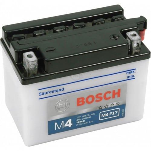Автомобильный аккумулятор BOSCH (Бош) 4 Ah 504011