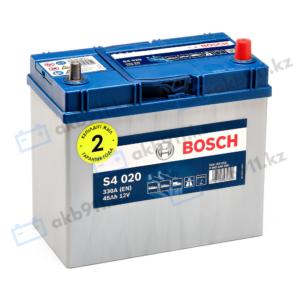 Автомобильный аккумулятор BOSCH (Бош) S4 020 45Ah 545155