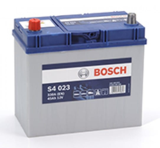 Автомобильный аккумулятор BOSCH (Бош) S4 023 45 Ah 545158