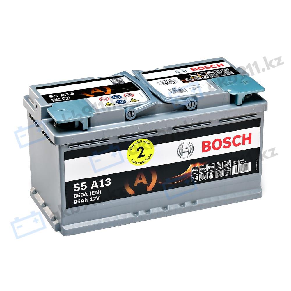Автомобильный аккумулятор BOSCH (Бош) S5 AA13 95Ah 595901 AGM