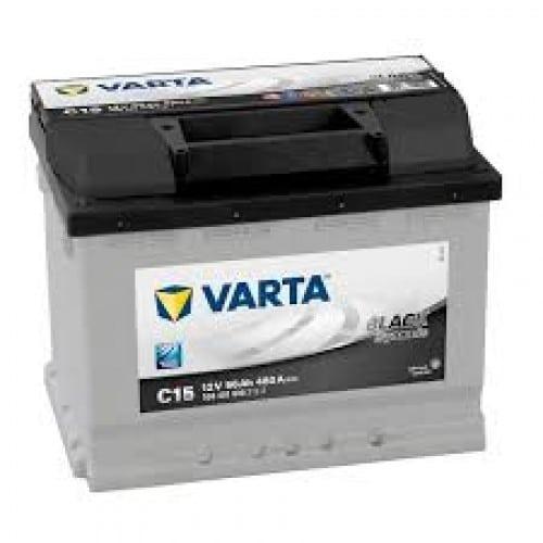 Автомобильный аккумулятор VARTA (Варта) С15 BLACK DYNAMIC 56Ah 556 401 048