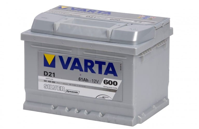Автомобильный аккумулятор VARTA (Варта) D21 SILVER DYNAMIC 61Ah 561 400 060