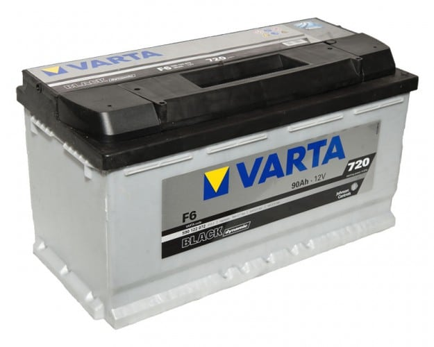 Автомобильный аккумулятор VARTA (Варта) F6 BLACK DYNAMIC 90Ah 590 122 072