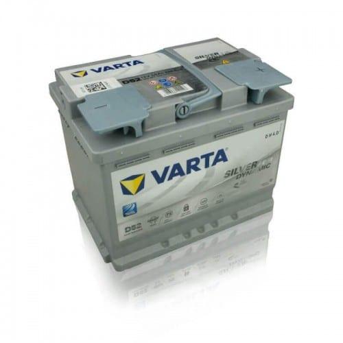 Автомобильный аккумулятор VARTA (Варта) SD D52 SILVER DYNAMIC 60Ah AGM 560 901 068