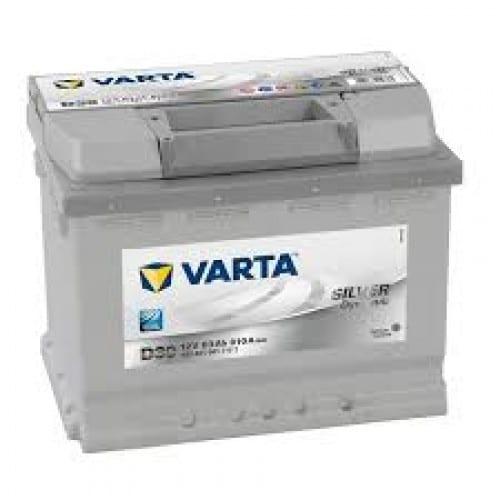 Автомобильный аккумулятор VARTA (Варта) D39 SILVER DYNAMIC 63 Ah 563 401 061