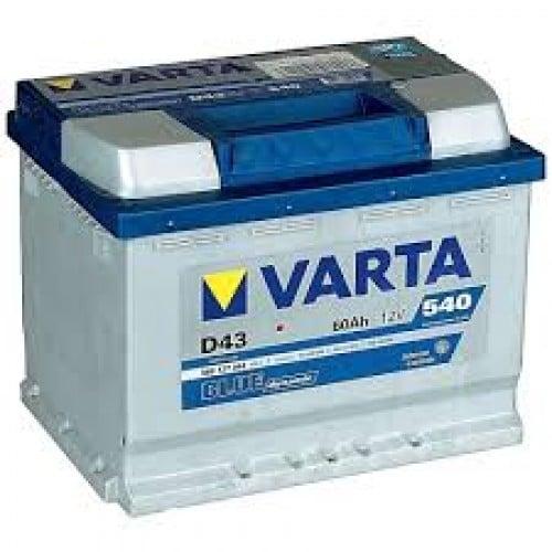 Автомобильный аккумулятор VARTA (Варта) D43 BLUE DYNAMIC 60 Ah BD 560 127 054