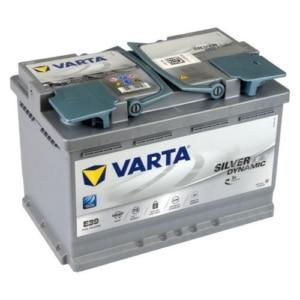 Автомобильный аккумулятор VARTA (Варта) E39 Silver Dynamic 70 Ah 570 901 076