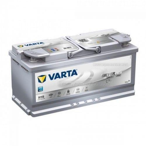 Автомобильный аккумулятор VARTA (Варта) H15 SILVER DYNAMIC 105Ah AGM 605 901 095